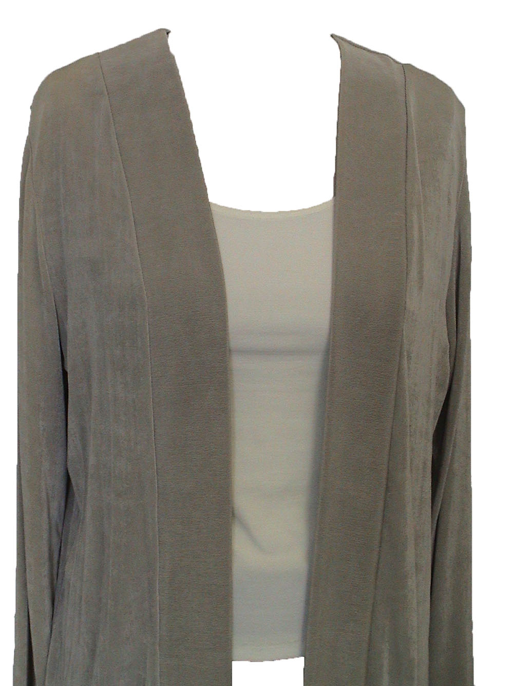 Women Slinky Long Sleev Cardigan (H004-11)