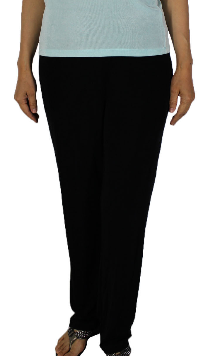 Women Slinky Long Pants (H012-7)