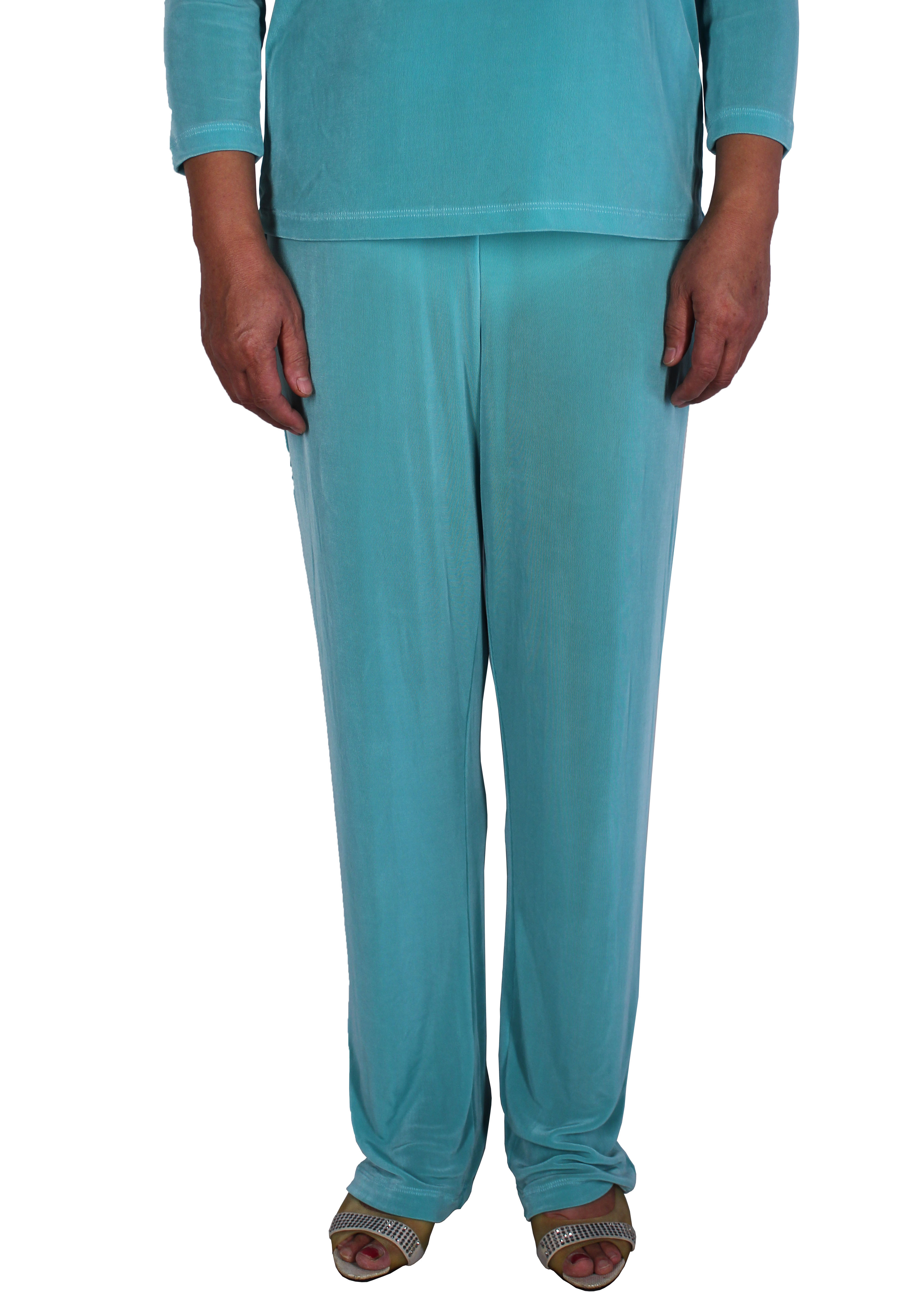 Women Slinky Long Pants (H012-4)