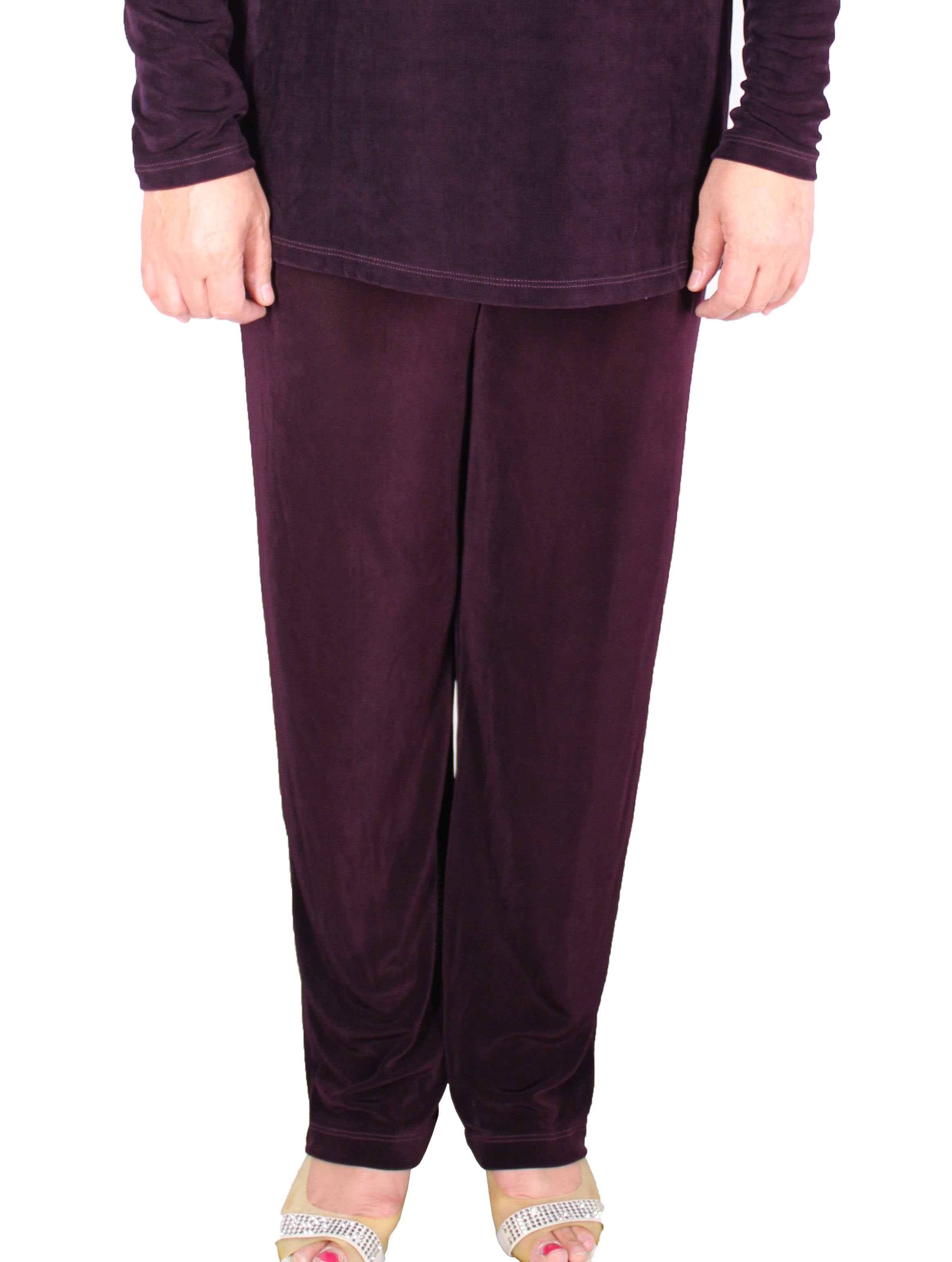 Women Slinky Long Pants (H012-13)